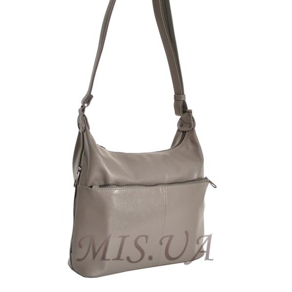 7a3898b1534a Купить женскую сумку серым цветом 35660 c доставкой по Украине ...