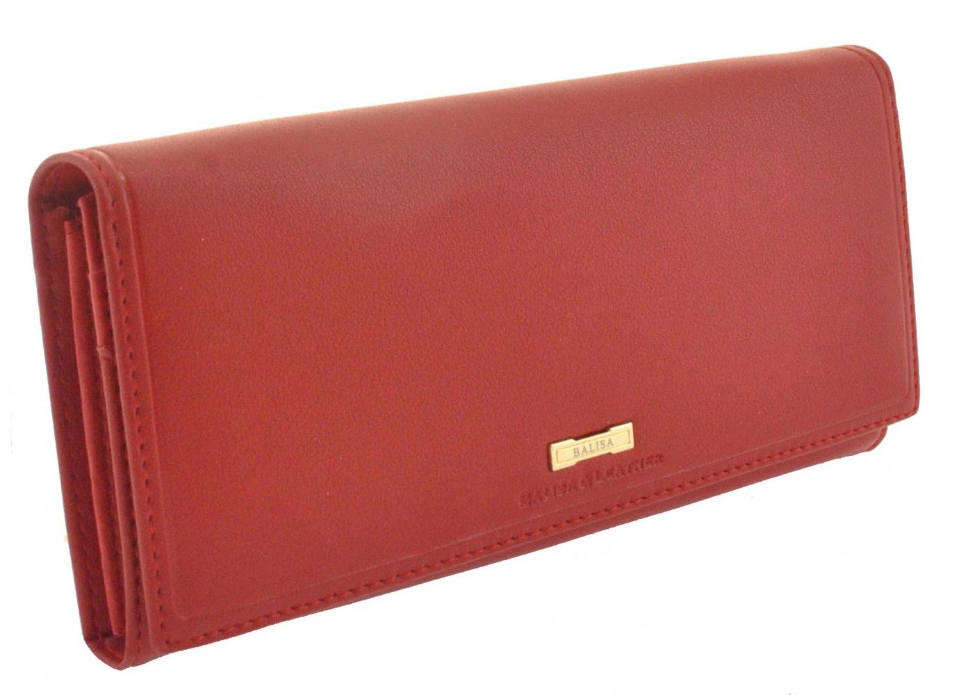 Женский кошелек 174008 красный