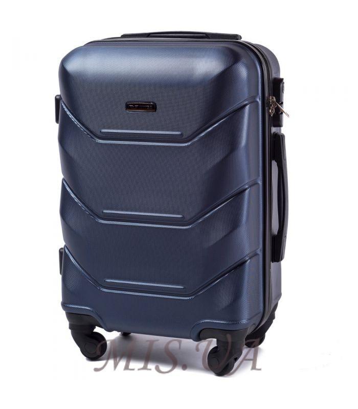 Suitcase 389512 dark blue