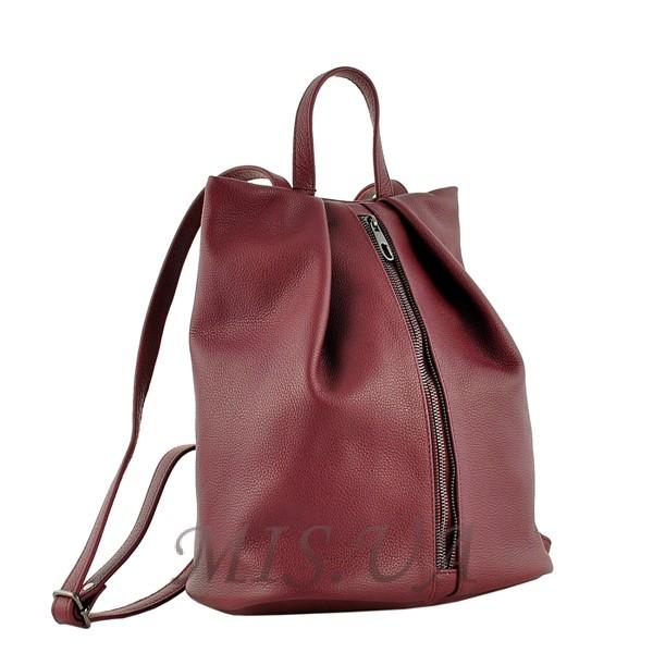 Female backpack 2569 burgundy