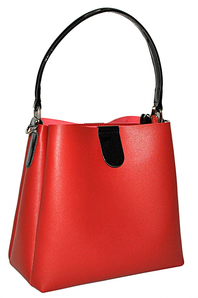 Women's bag 35488 red