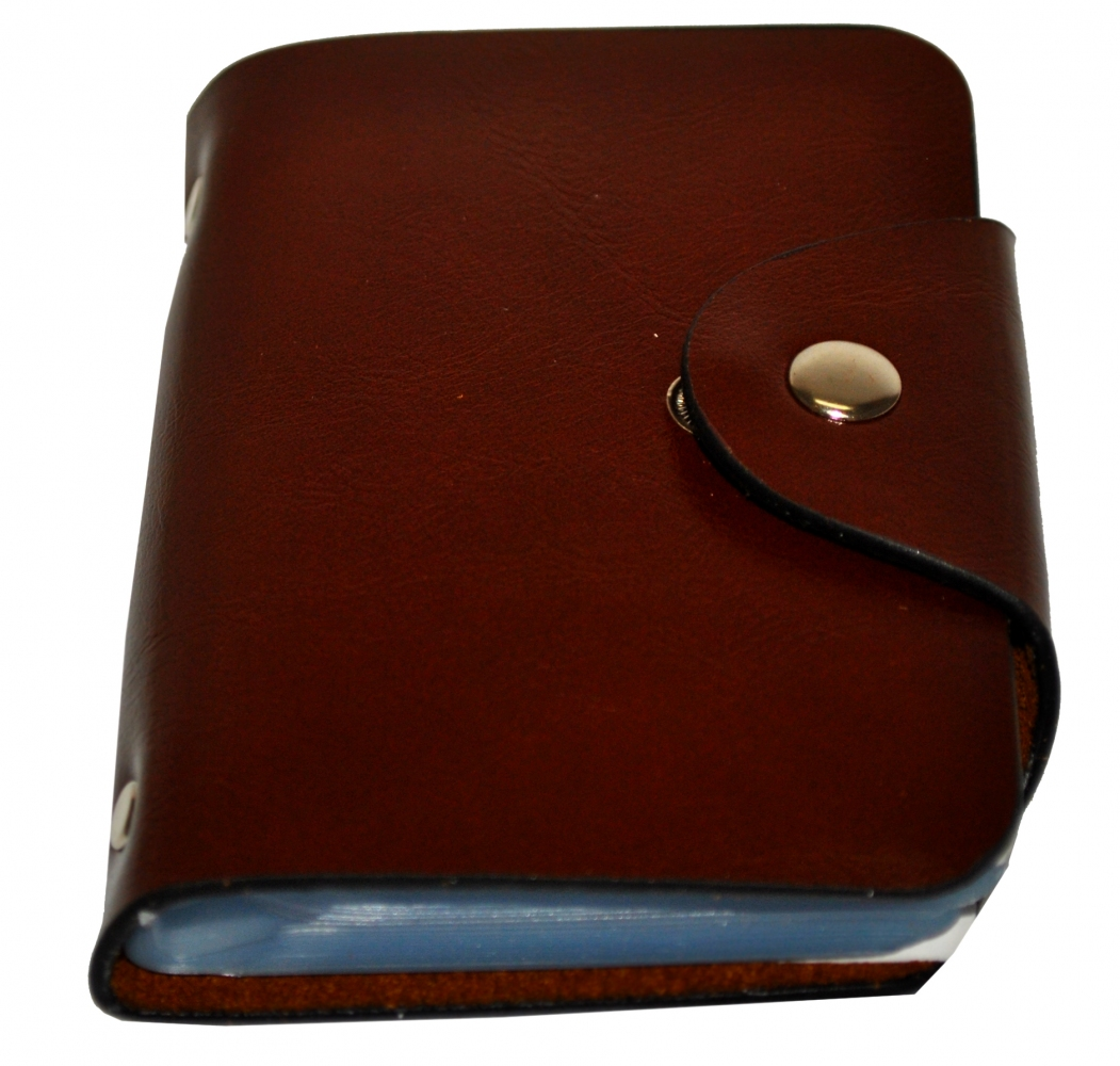 Business Card Holder 17684 brown
