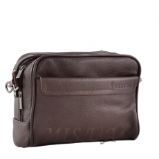 Men's leather bag 4501 brown