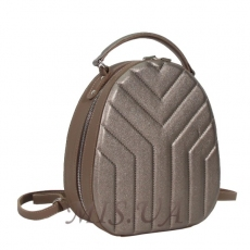 Female backpack 35763 bronze