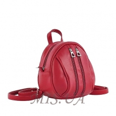 Female backpack 35750 burgundy