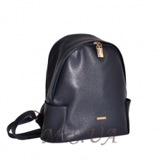Female backpack 35432 dark blue