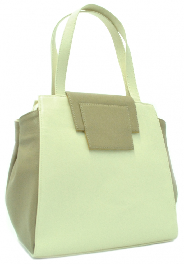 Women's bag 35455 beige