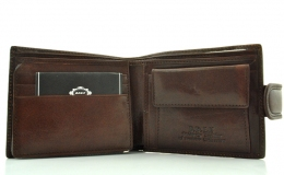 Men's wallet 17442 dark brown