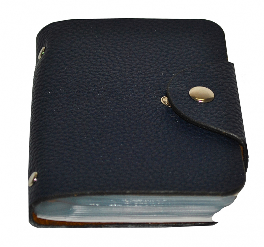 Business Card Holder 17684 blue