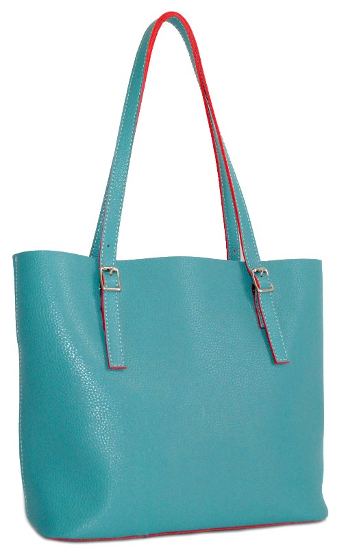 Women's bag 35445 turquoise