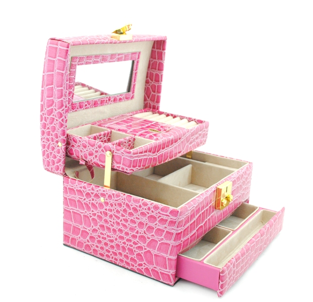 Box for jewelry 1874 pink