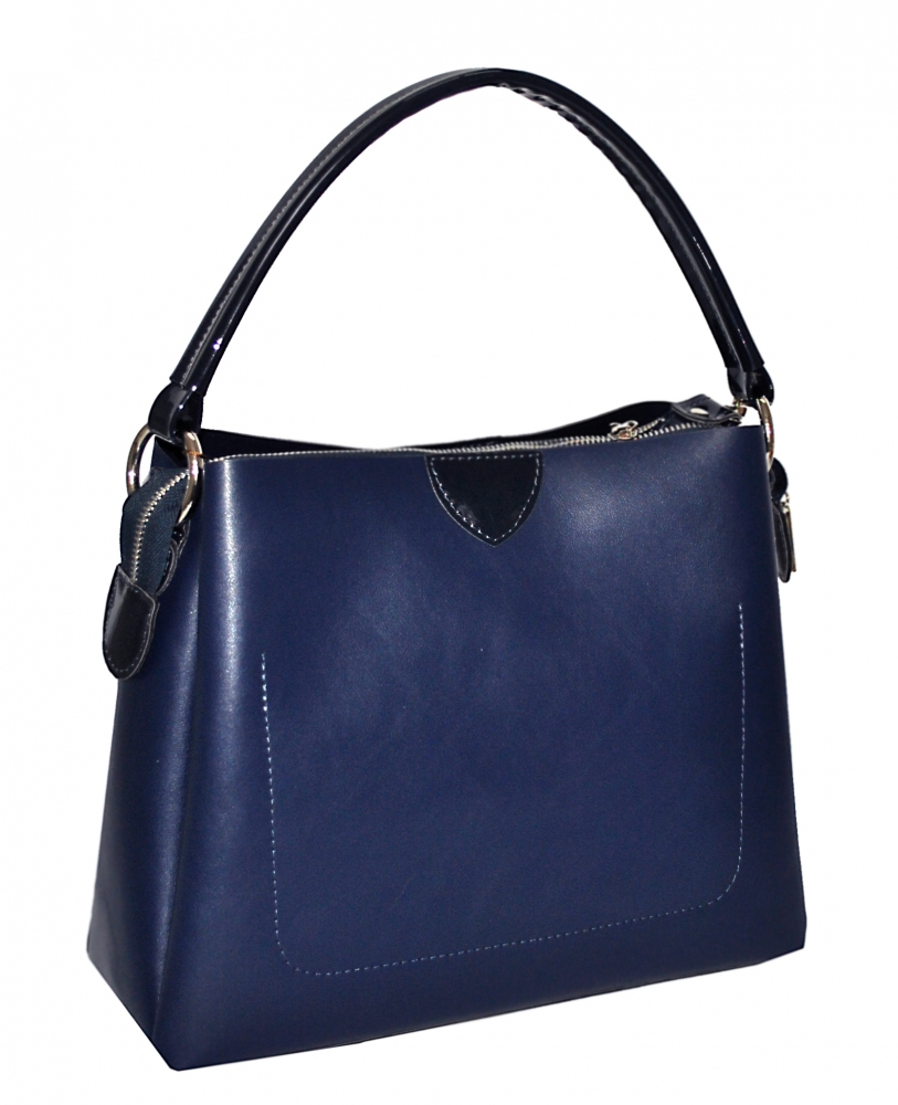 Women's bag 35524 blue