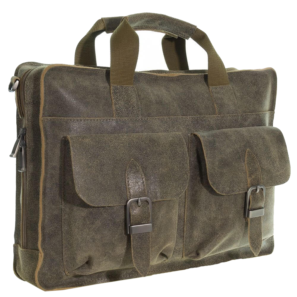Men's briefcase 4301 khaki