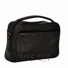 Men's leather bag 4501 black