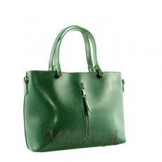 Women's bag 35635 green