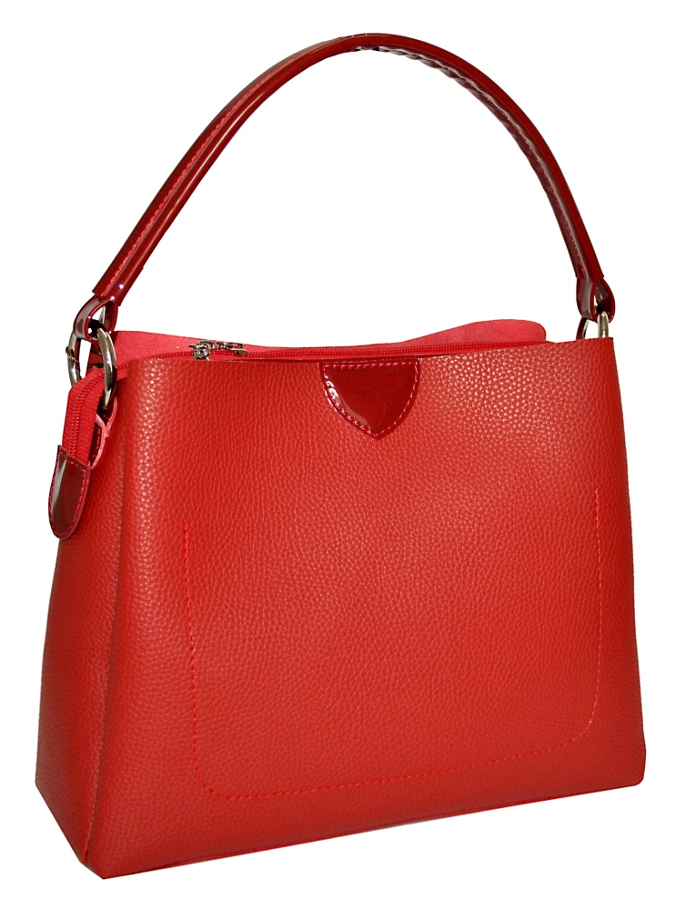 Women's bag 35524 red