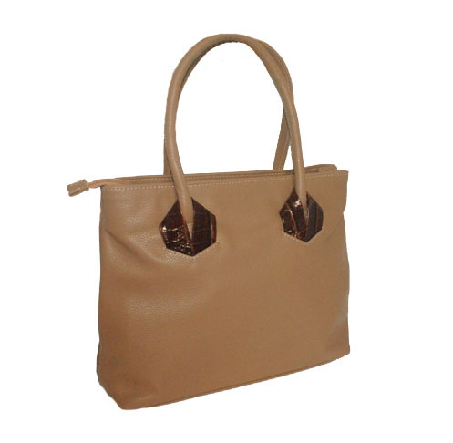 Women's handbag 35406 beige