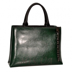 Women's bag 35668 green