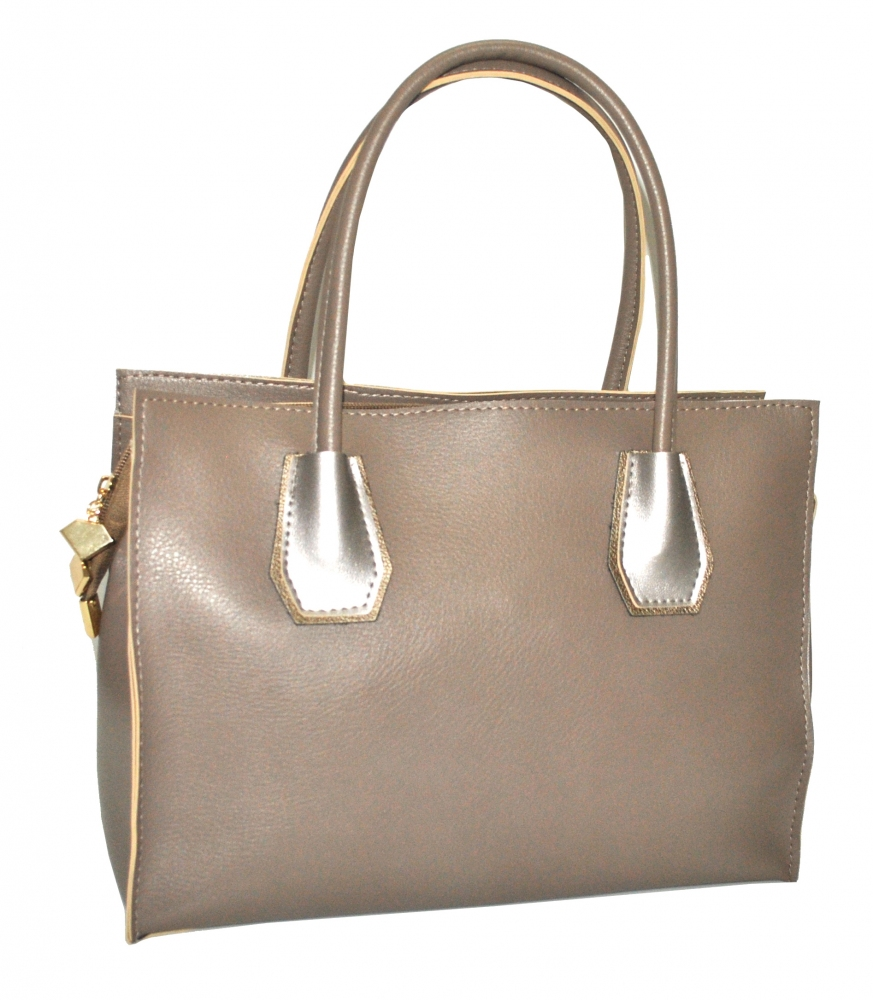 Women's bag 35481 beige