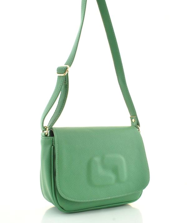 Жіноча сумка через плече 35133 зелений dbef444b94f6b