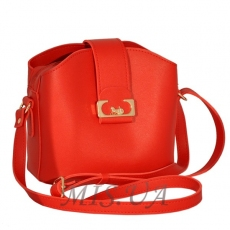 Women's bag 35673 bright red