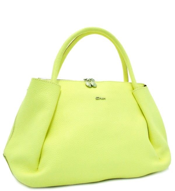 Women's handbag 2515 yellow