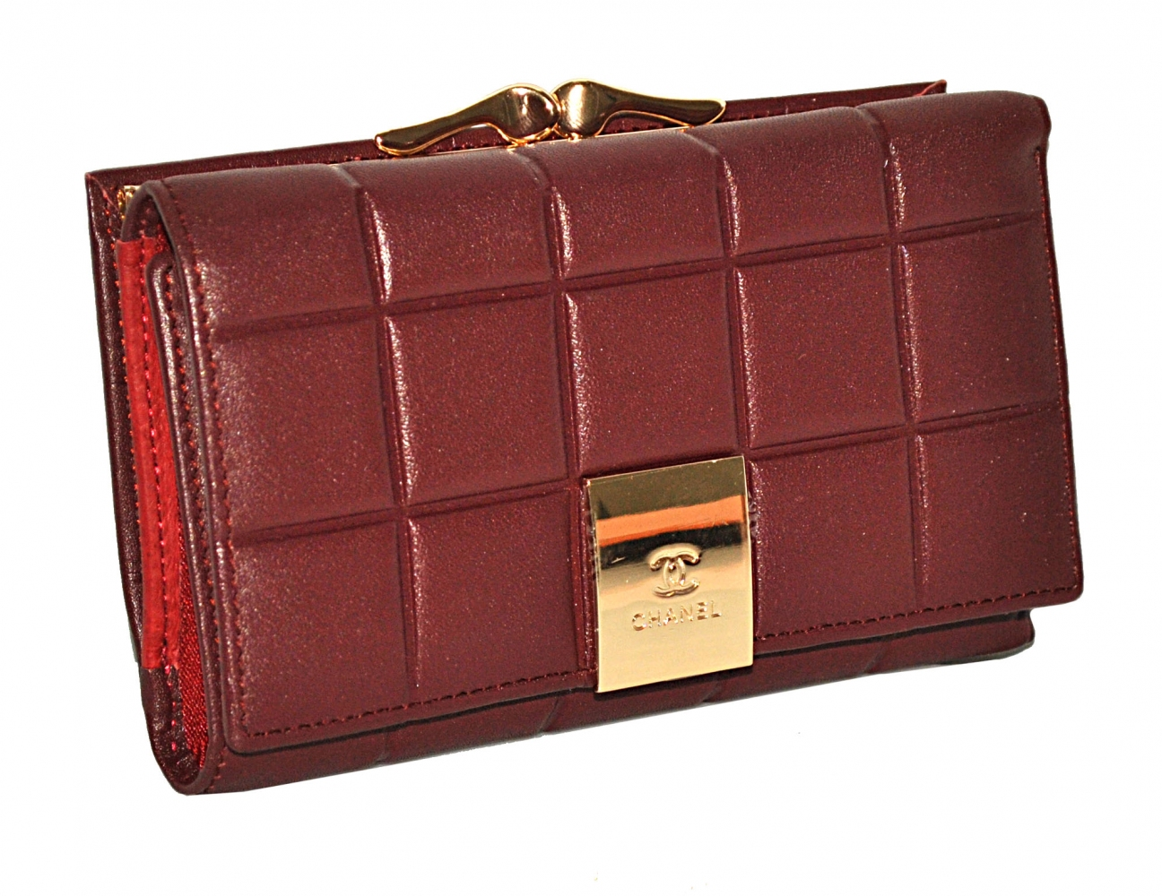 Women's purse 175216 burgundy