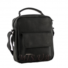 Men's bag 4373 black matte
