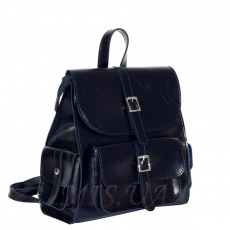 Female backpack 35818 blue