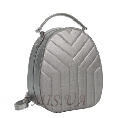 Female backpack 35763 silver