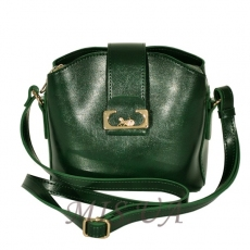 Women's bag 35673 green