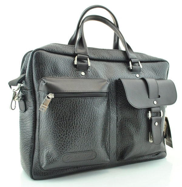 Men's briefcase 4295 black