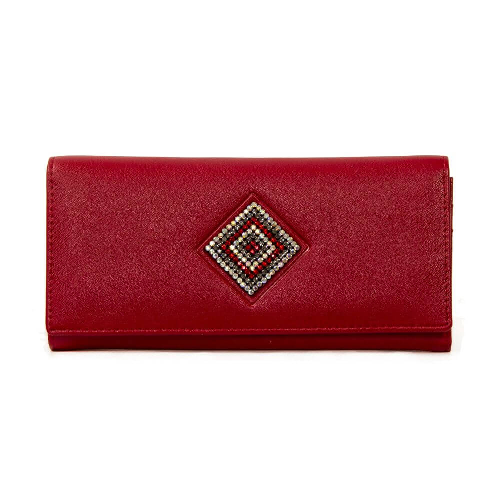 Women's purse 174014 red