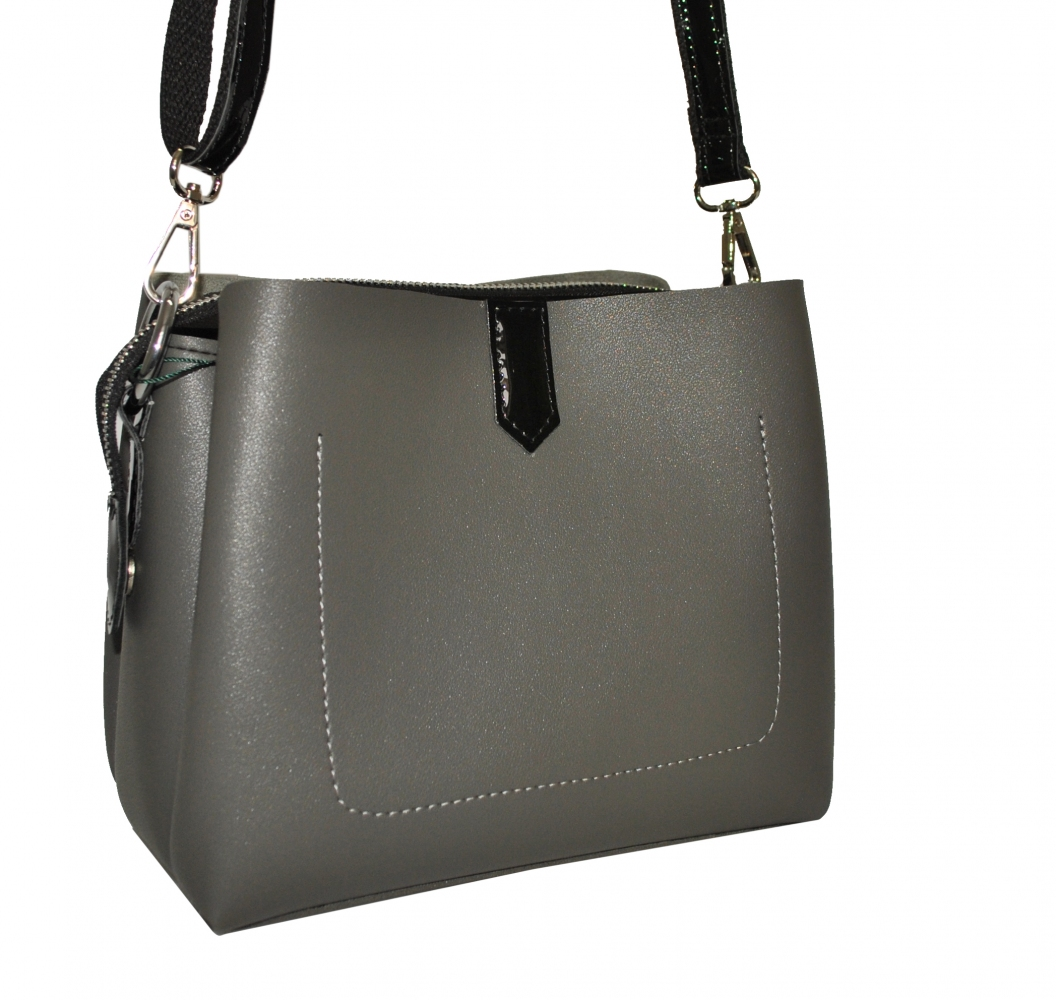 Women's bag 35523 gray
