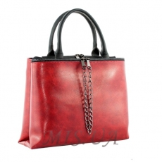 Women's bag 35668 burgundy