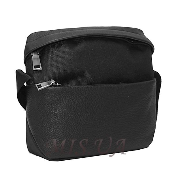 Мужская комбинированная сумка Vesson 0432 черная