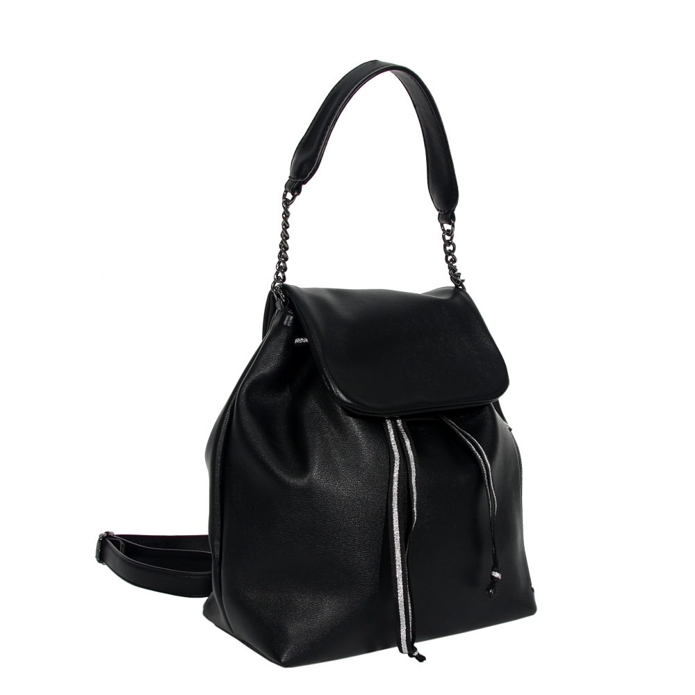 Female backpack 35968 black