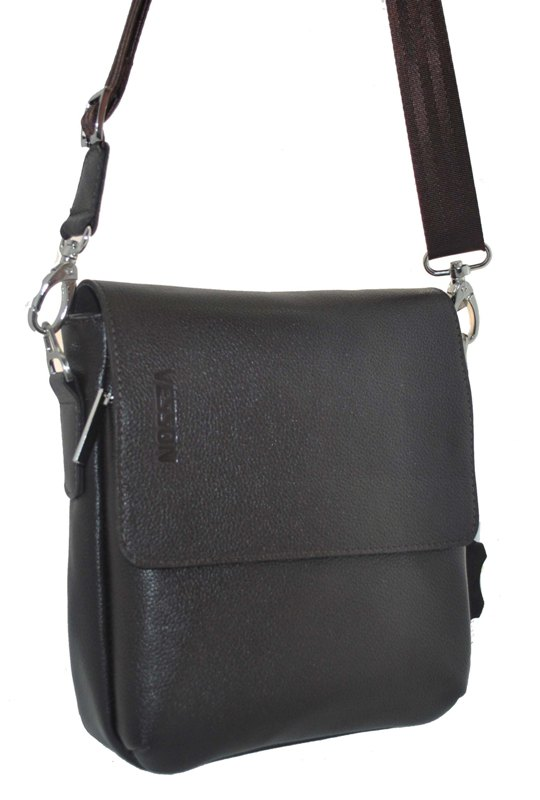Мужская кожаная сумка 4103 коричневая