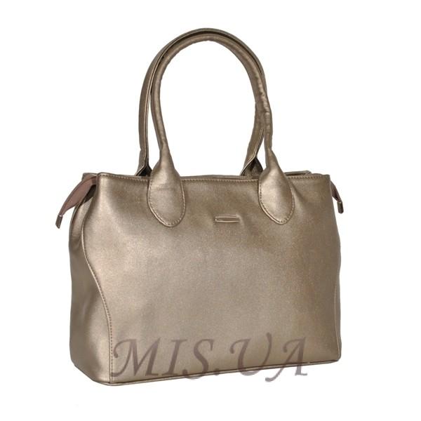 Женская сумка 35535 бронзовая