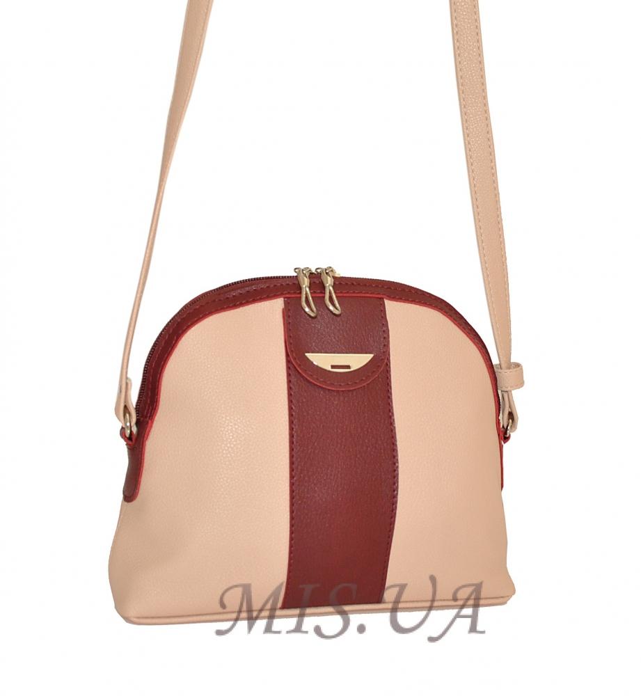 Жіноча сумка 35612 пудра