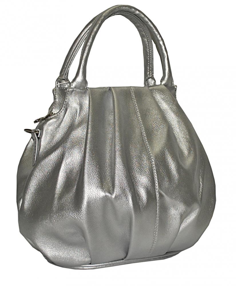 Жіноча сумка 35440 срібна