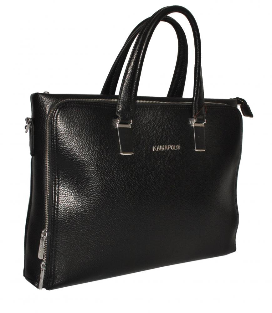 Мужской портфель 384014 черный