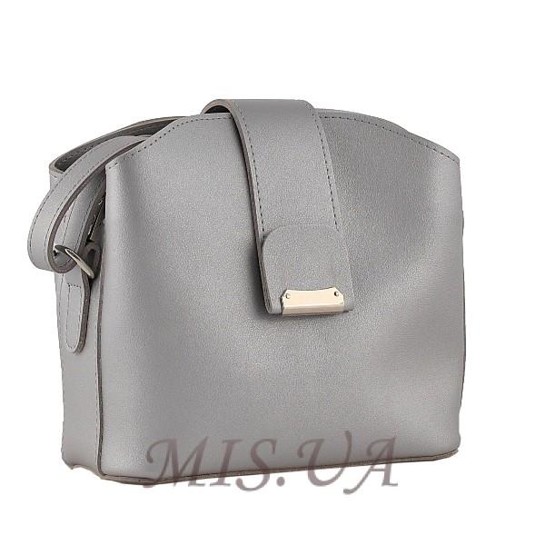 Женская сумка МІС  35758 серебристая