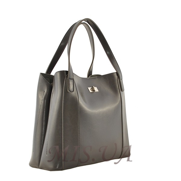 Женская сумка МІС 35694 серая