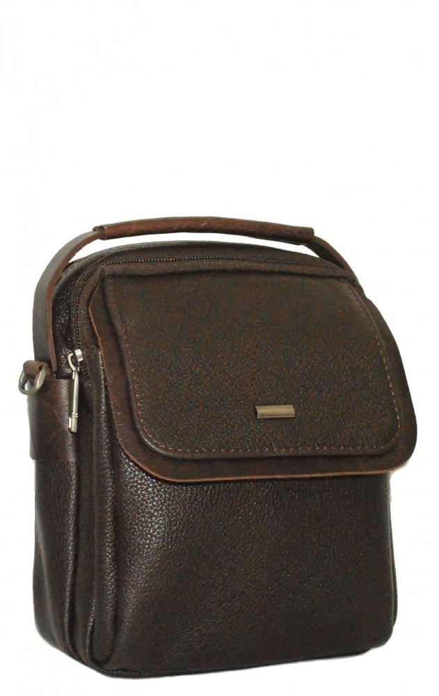 Мужская сумка 4346 темно-коричневая