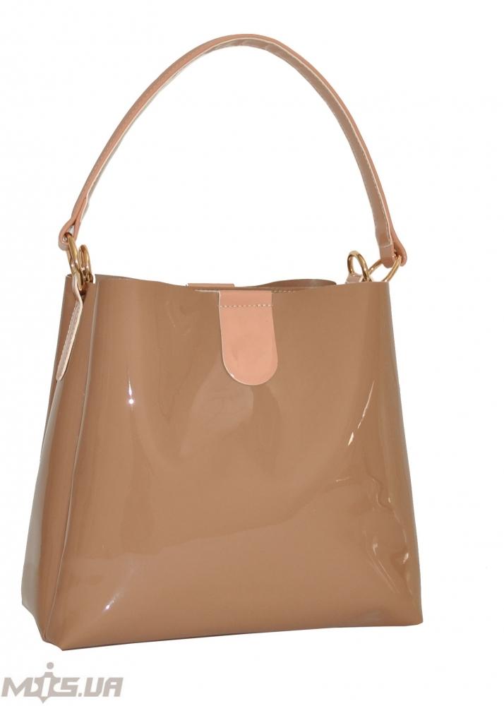 Женская сумка 35513 - 3  темно-бежевая