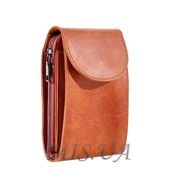 Мужская кожаная сумка Vesson 4555 рыжая