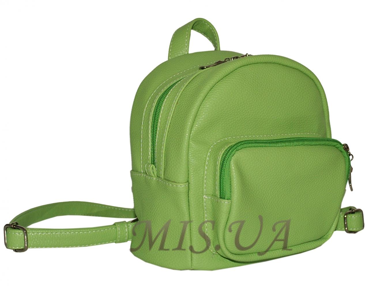 Городской  рюкзак 35617-1с салатовый