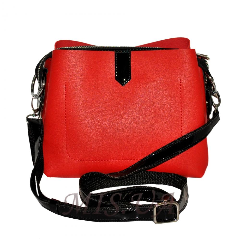 Женская сумка 35523 красная