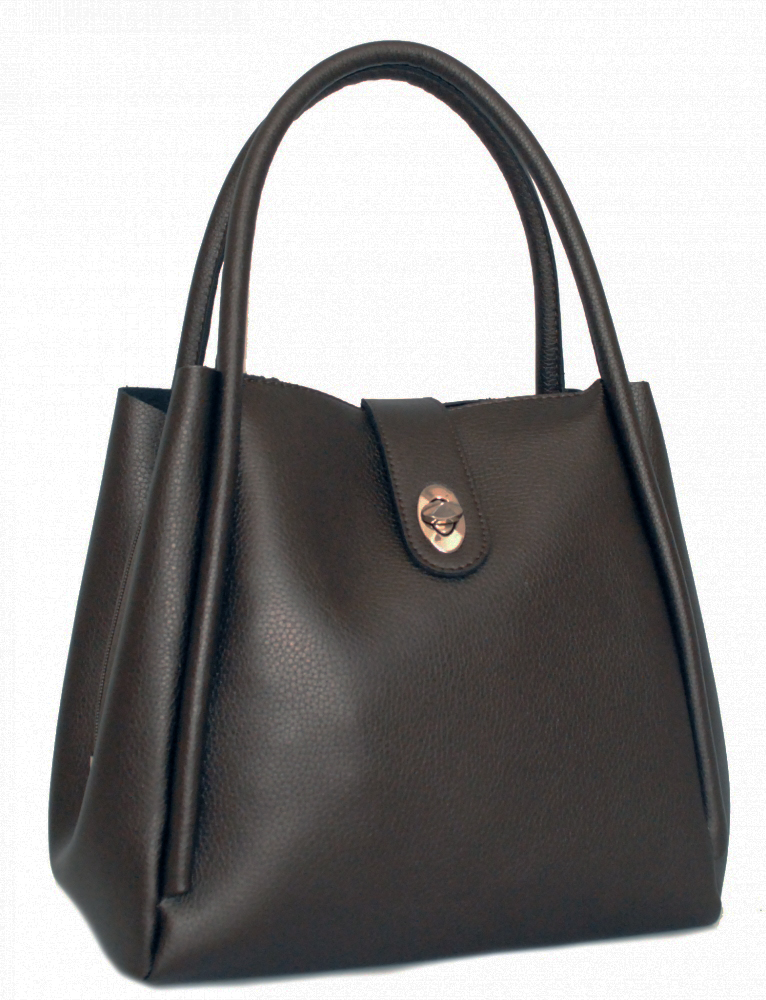 Женская сумка 35467 А металлик